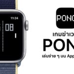 Pong Kill Time Game For Apple Watch