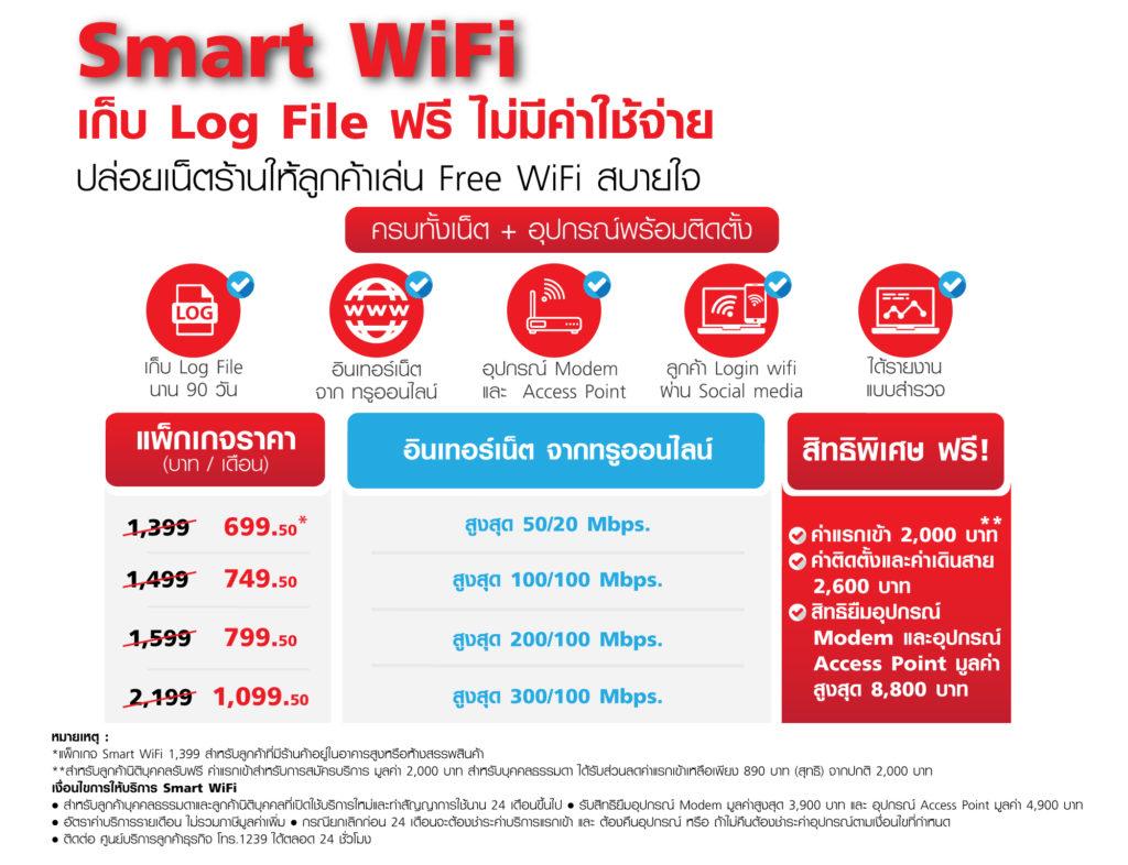 Smart Wifi True Business Free Wifi Service 5