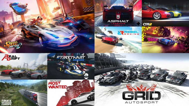 Top 10 Racing Games 2019 Cover