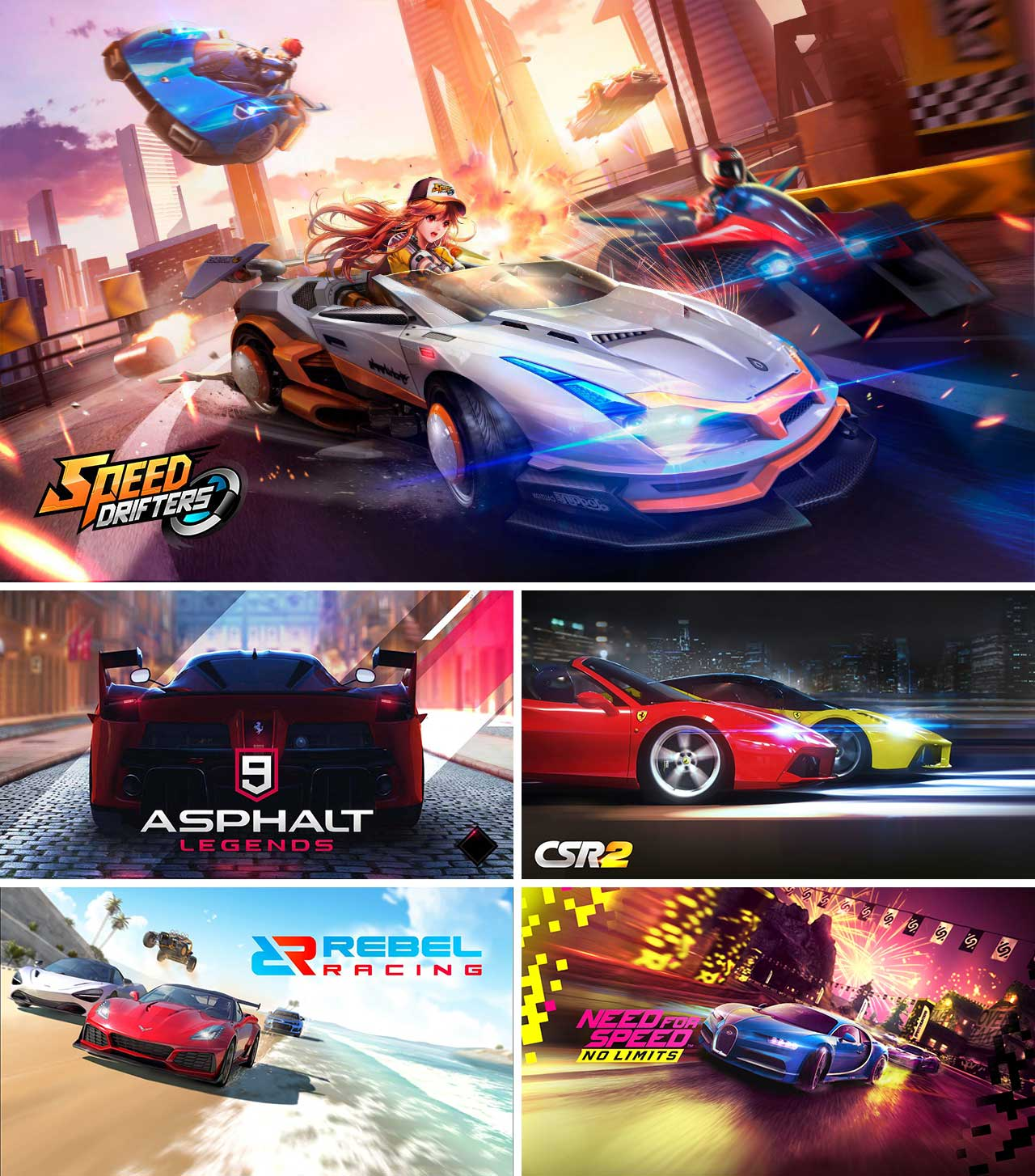 Top 10 Racing Games 2019 Free