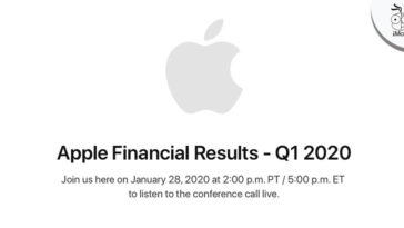 Apple Earnings Release Q1 2020 Date