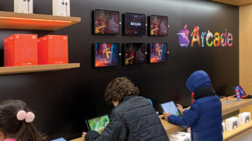 Apple Store Redesign Promote Apple Arcade