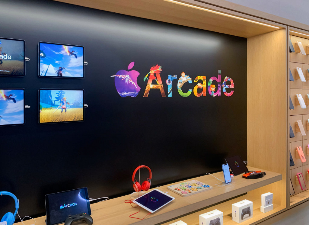 Apple Store Redesign Promote Apple Arcade Img 2