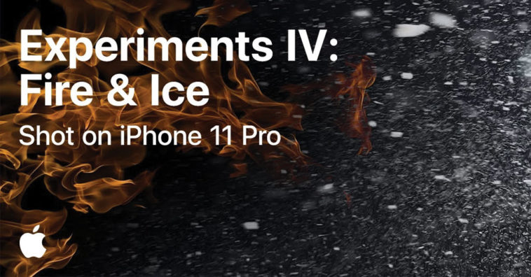Experiment Fire Ice Video Shot By Iphone 11 Pro