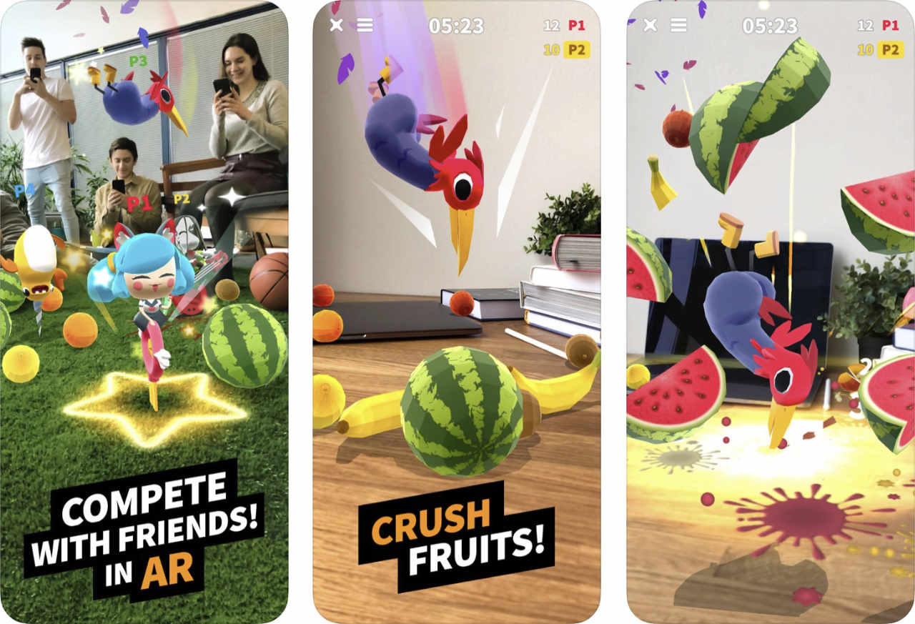 Flippy Friends Fruit Crush Ar 1