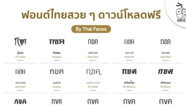 Font Thai Free Download And Copyright Info By Thaiface Com Cover