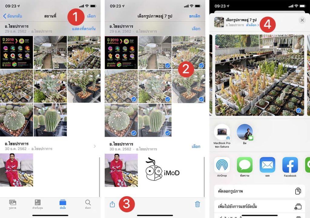 How To Share Photos Icloud Link Iphone Ipad Ios13 Ipados 1