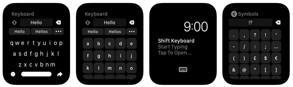 Introduce Shift Keyboard For Apple Watch Watchos 6 1