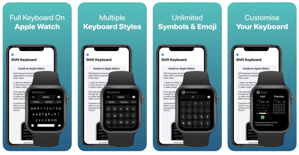 Introduce Shift Keyboard For Apple Watch Watchos 6 2