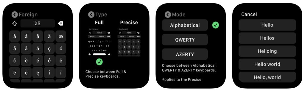 Introduce Shift Keyboard For Apple Watch Watchos 6 3