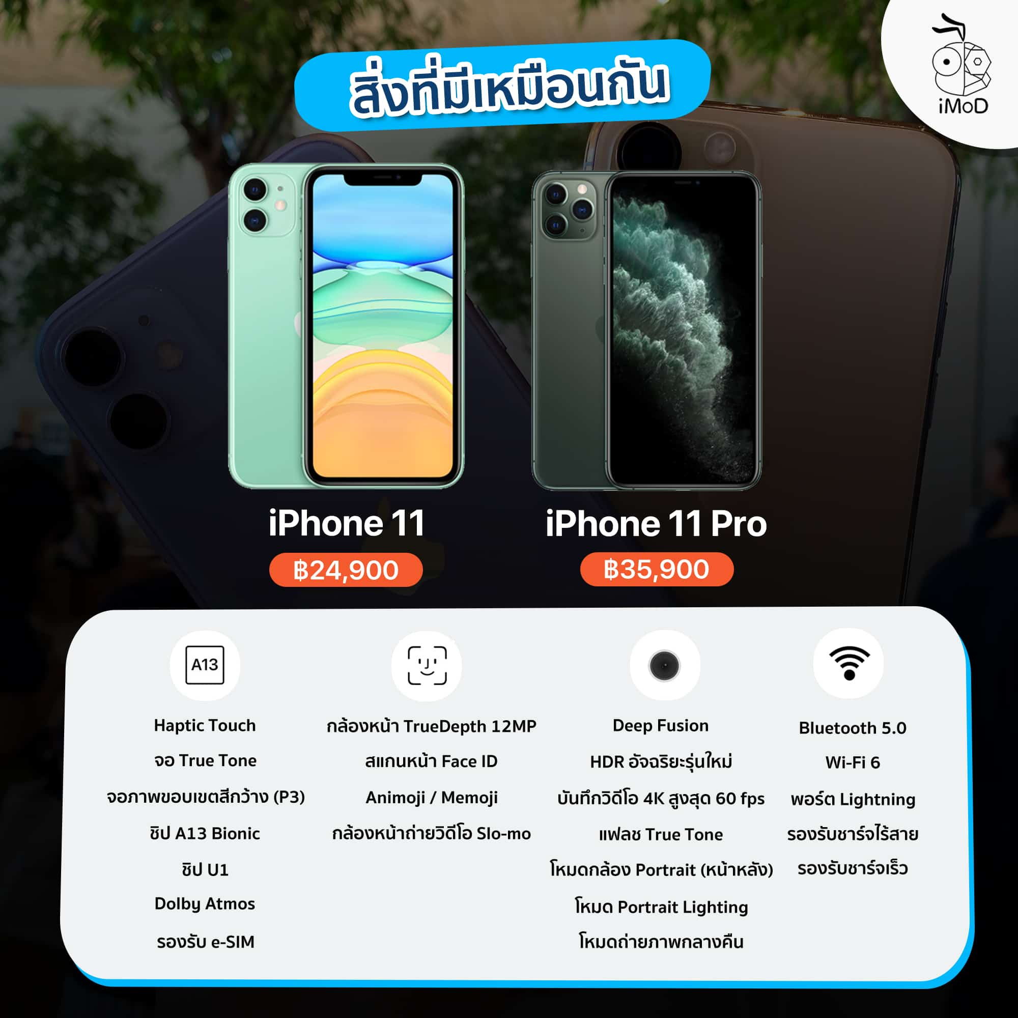 Iphone 11 Iphone 11 Pro Same Feature