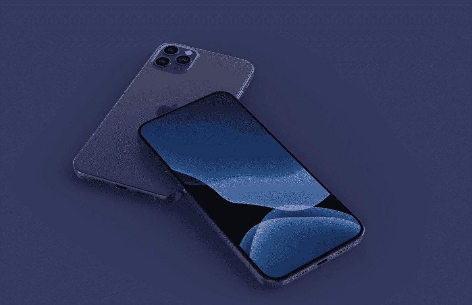 Iphone 12 Navy Blue Render Img 6