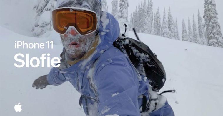 Slofie Iphone 11 Video Ski Snow