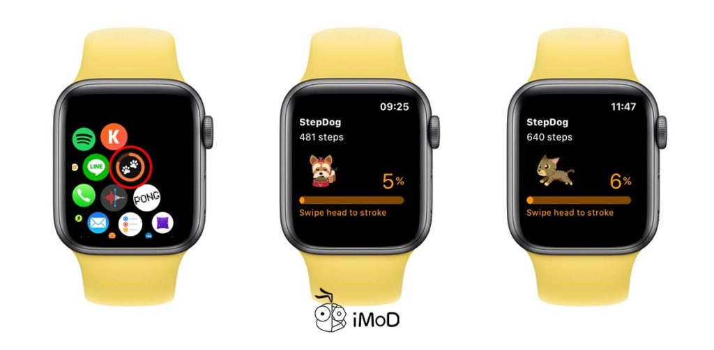 Stepdog Walking Couht For Apple Watch 6
