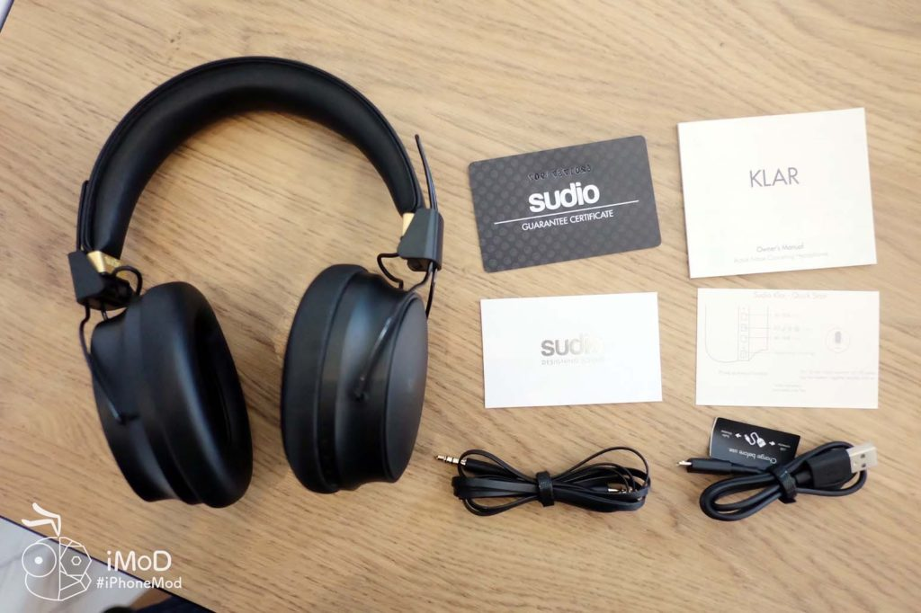 Sudio Klar Wireless Headphone Review 16
