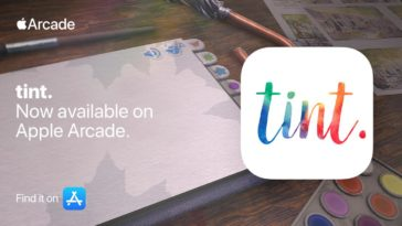 Tint Apple Arcade Cover