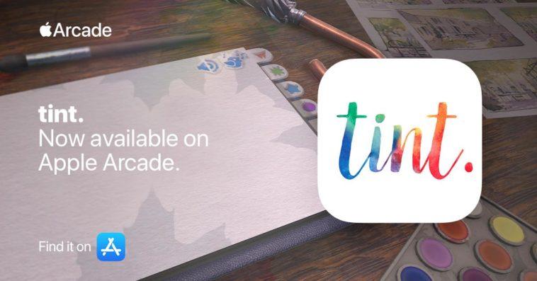 Tint Apple Arcade Cover