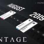 Vantage Calendar Cover