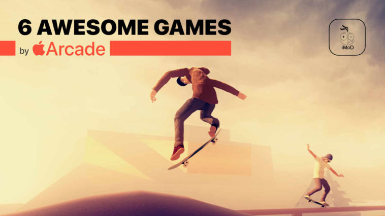 6 Awesome Games By Apple Arcade Cover