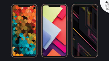 Abstract Geometry Iphone Wallpaper