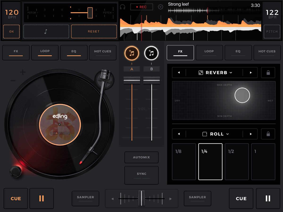 app mix เพลง iphone