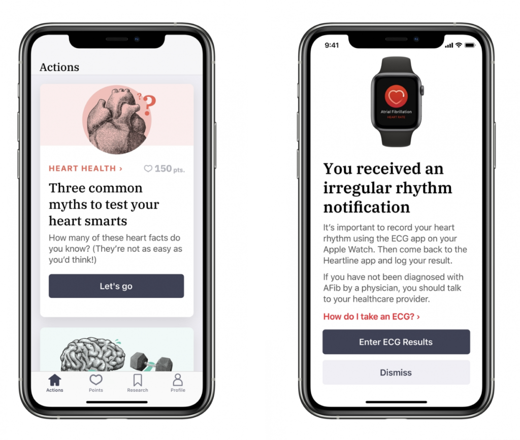 Apple And Johnson And Johnson Study Risk Of Strock Iphone Apple Watch 2
