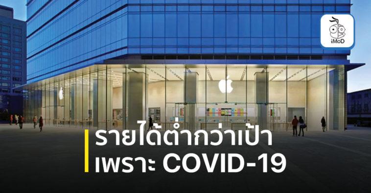 Apple March 2020 Quarter Revenue Fall Due Covid 19
