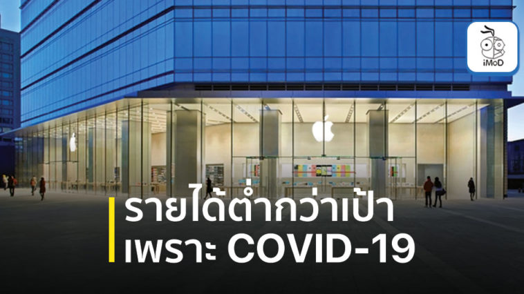 Apple March 2020 Quarter Revenue Fall Due Covid 19
