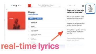 Apple Music Macos 10 15 4 Beta 2 Real Time Lyrics