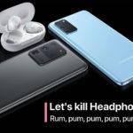 Cover Samsung Drop Headphonejack Galaxy S20 And Z Flip