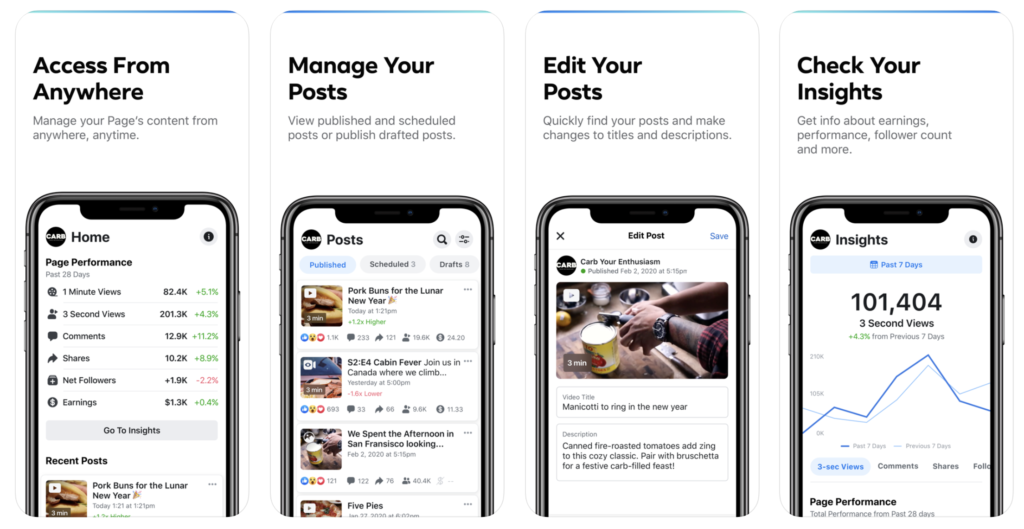 Facebook Released New App Creator Studio For Manage Page Iphone Ipad 1