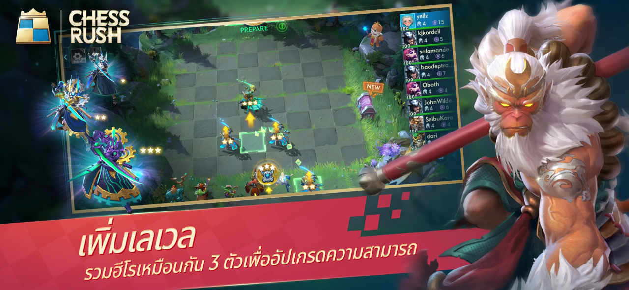 Game Chess Rush 6