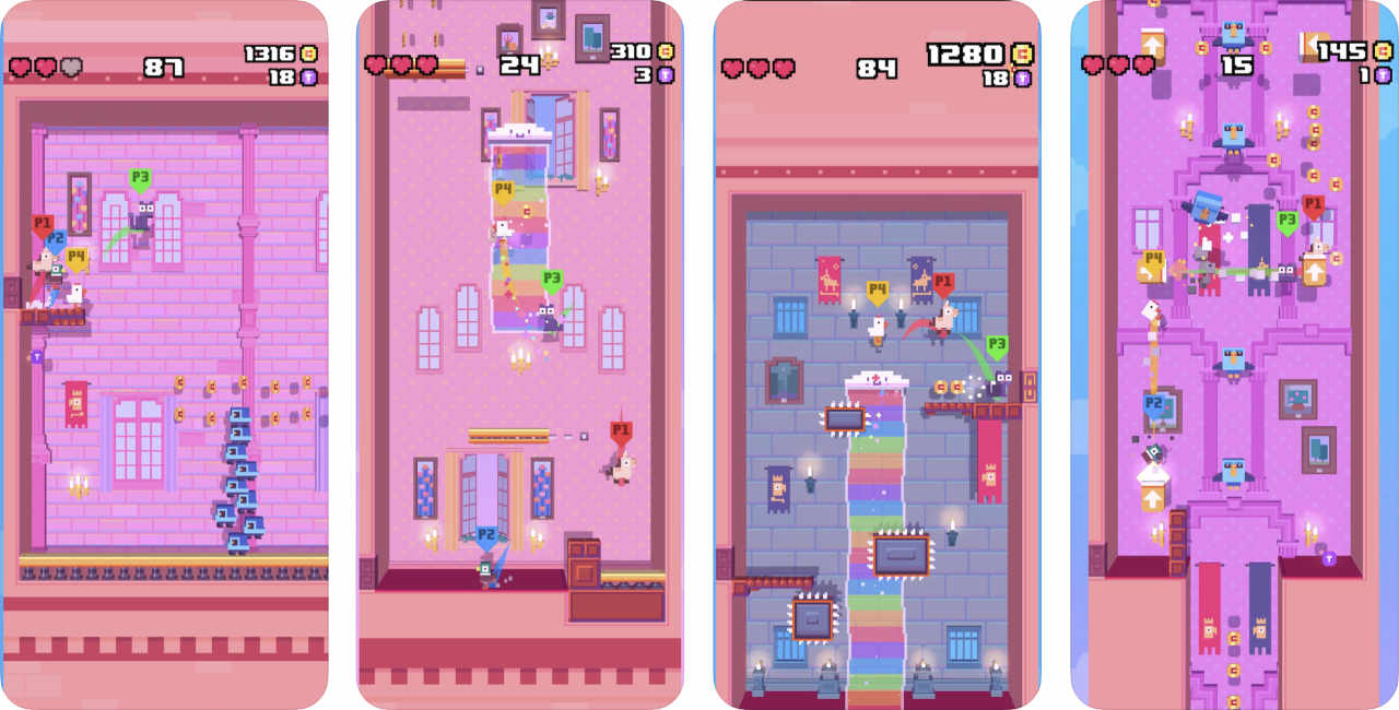 Game Crossy Road Castle 1