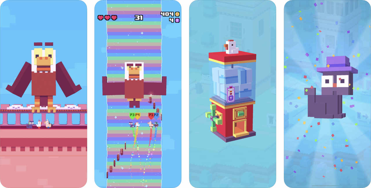 Game Crossy Road Castle 2