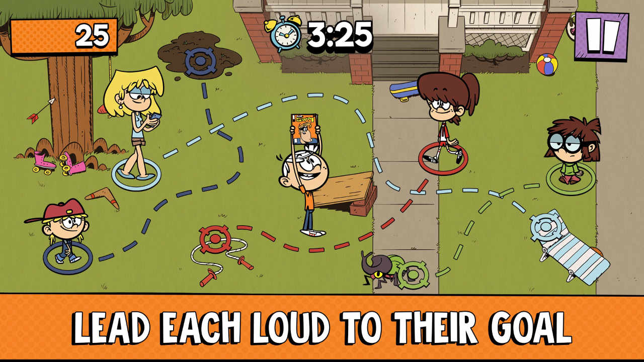 Game Loud House 1