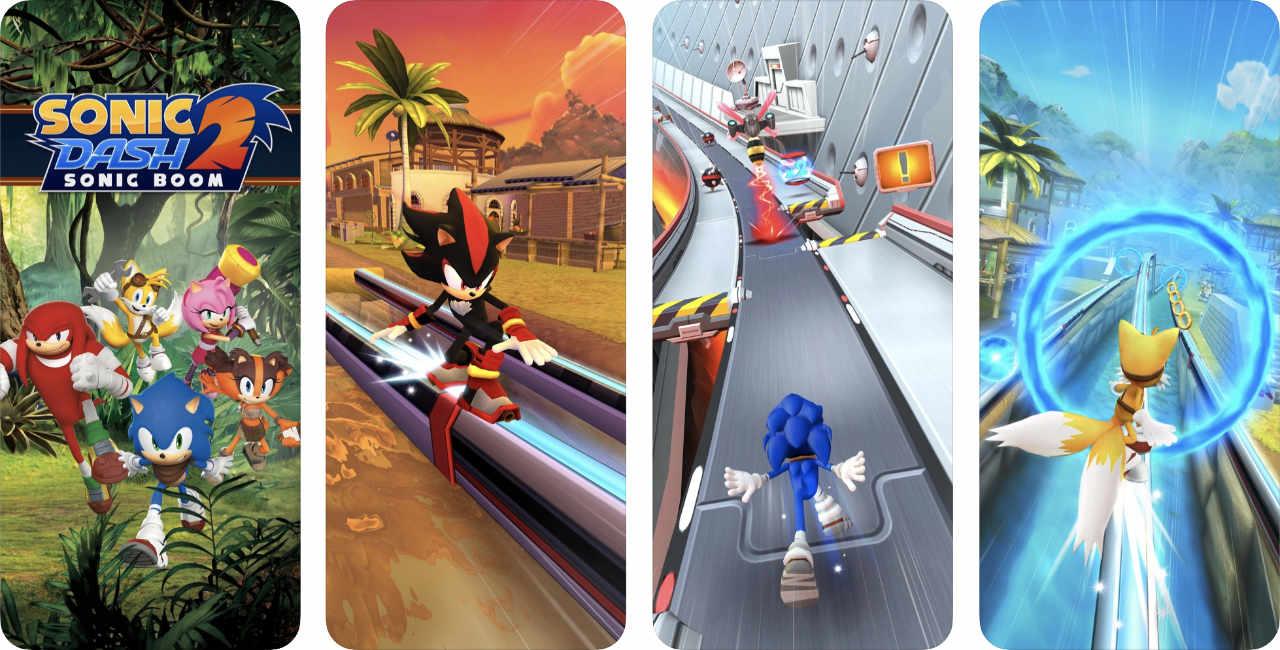 Game Sonic Dash 2 Content