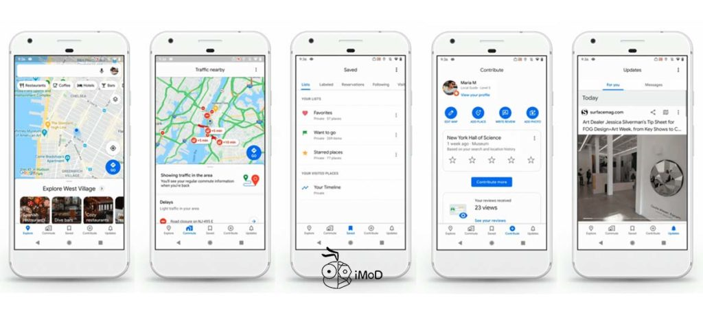 Google Maps Update 5 36 Version For Celebrate 15 Yeart Anniversary 1