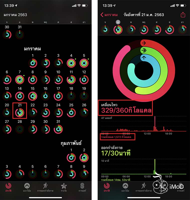 How To Check Active Calories And Total Calories Watchos 6 1
