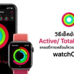 How To Check Active Calories And Total Calories Watchos 6