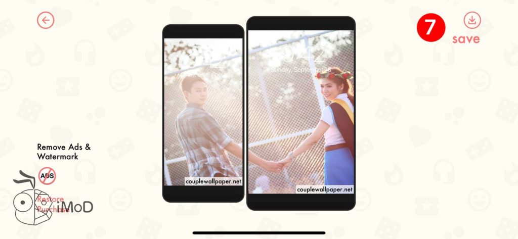 How To Create Couple Love Wallpaper For Valentine Day Iphone Apple Watch 11
