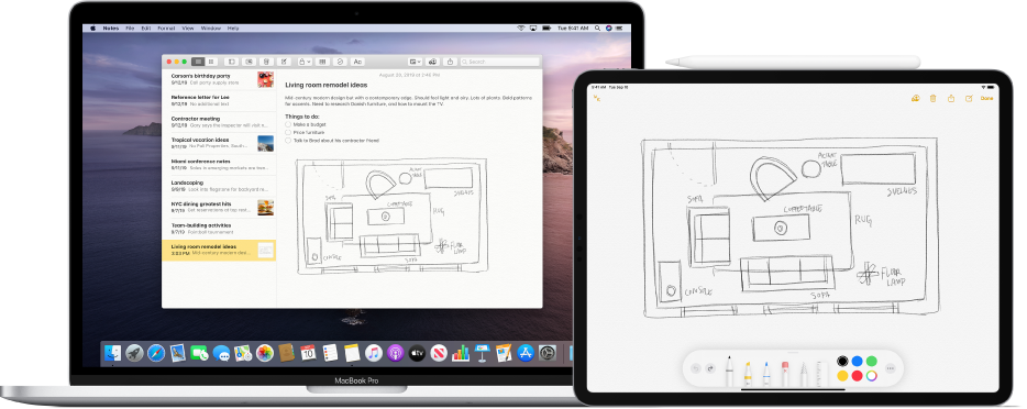 How To Mark Up Pdf Doc Or Image On Mac By Use Finger On Iphone Apple Pencil On Ipad 6