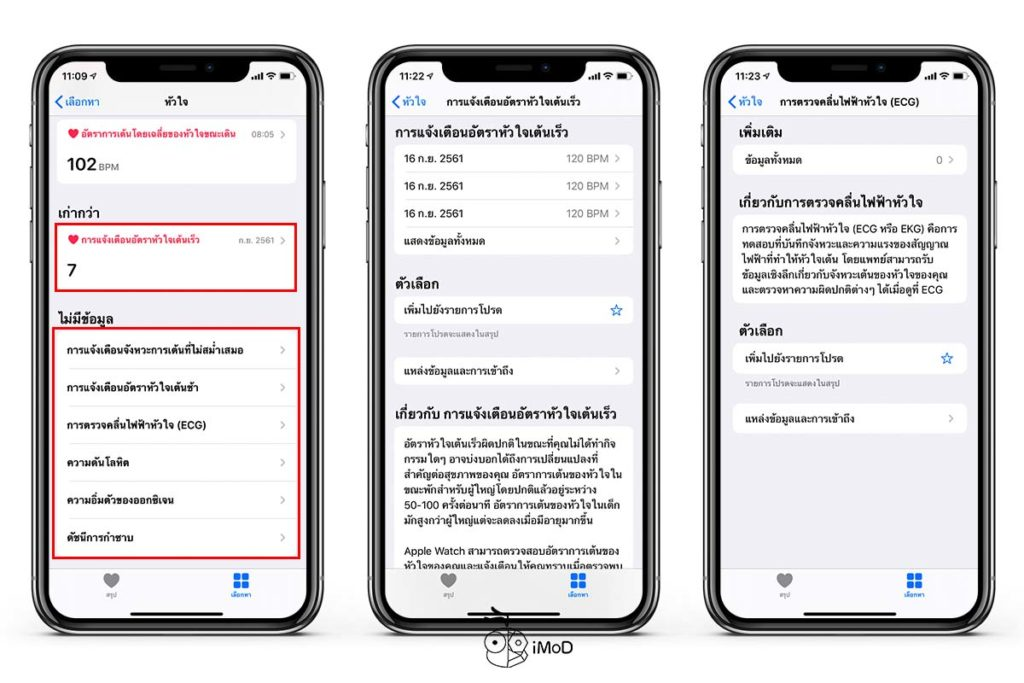 How To See Hear Rate Data History Iphone Apple Watch 6