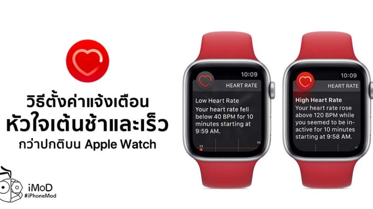 How To Setting Low And High Heart Rate Nofication On Apple Watch