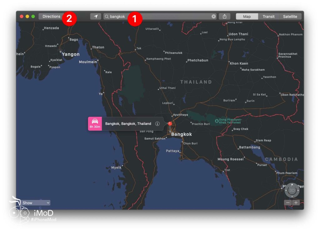 How To Share Maps Directions From Mac To To Iphone Ipad 1