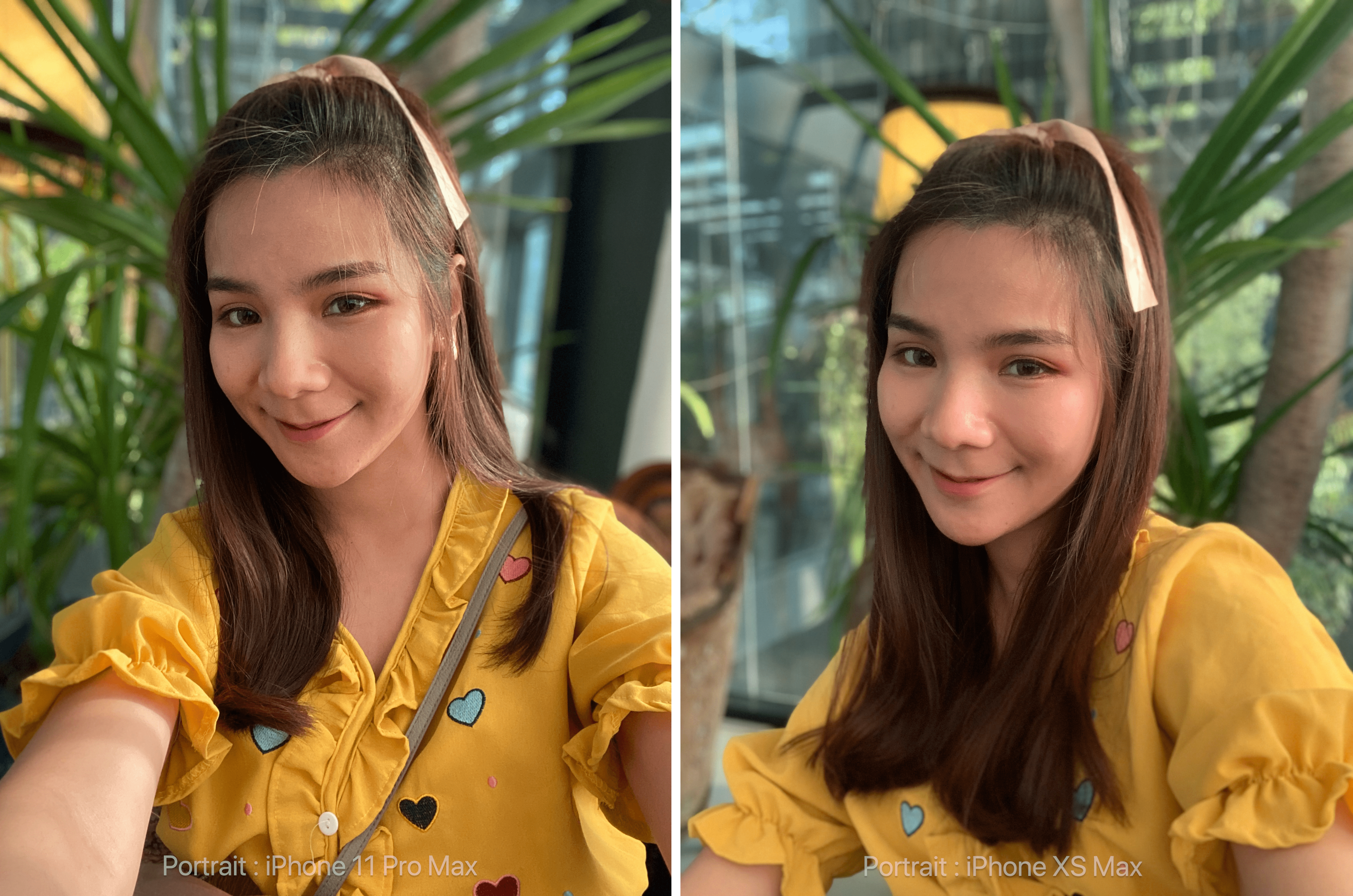 Iphone 11 Pro Max And Iphone Xs Max Sefie Photo Compare Img 5