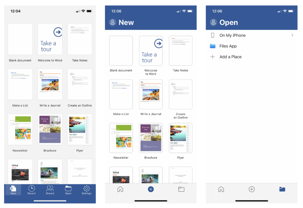 Microsoft Office For Iphone Redesign Version 2 34 1