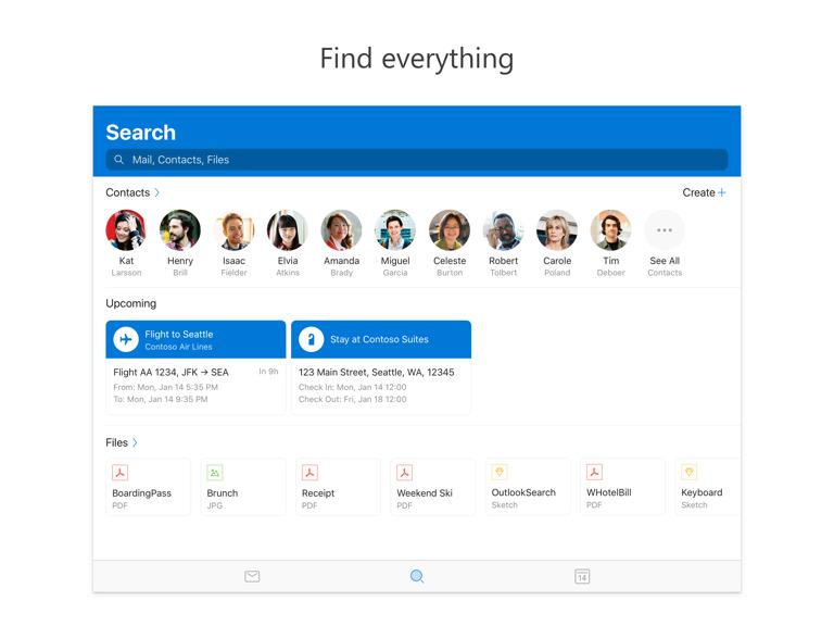 Microsoft Outlook Update Support Split View Ipad 2