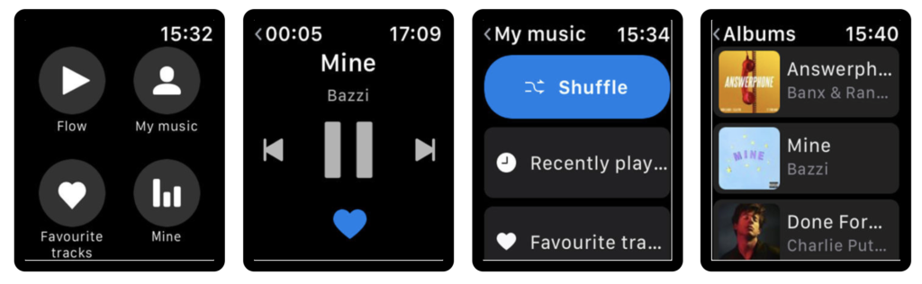 Music App Which Support Play Offline Or Stream Music On Apple Watch Update 1