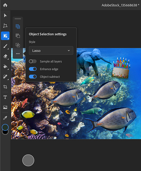 Photoshop Version 1 2 0 Released Ipad Include Object Select And Type Properties Img 2
