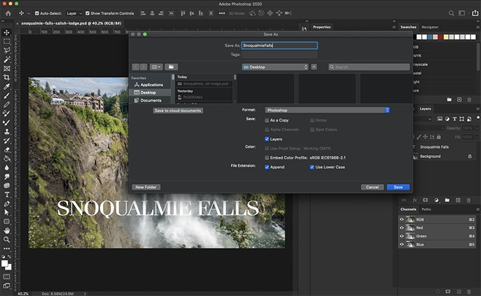 Photoshop Version 21 1 For Mac Released Support Darkmode Img 3